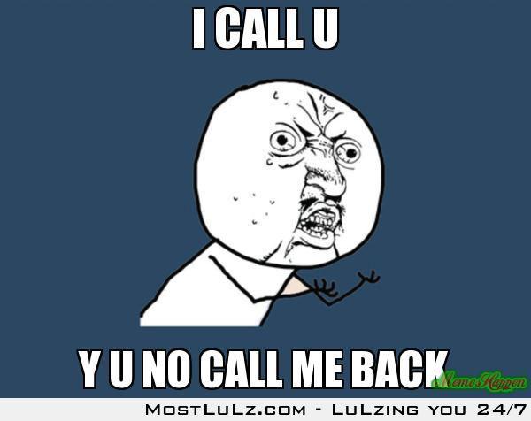 Y U NO?!