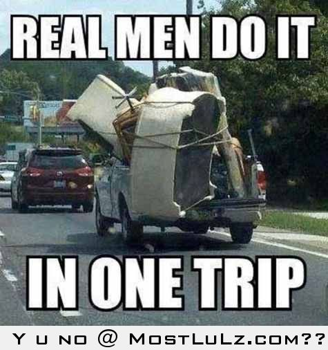 How Real Men Do It