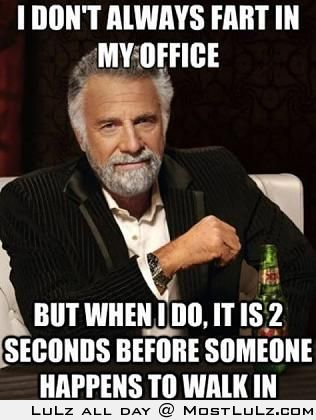 Farting in the Office