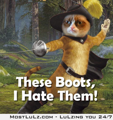 These Boots , I Hate Them!