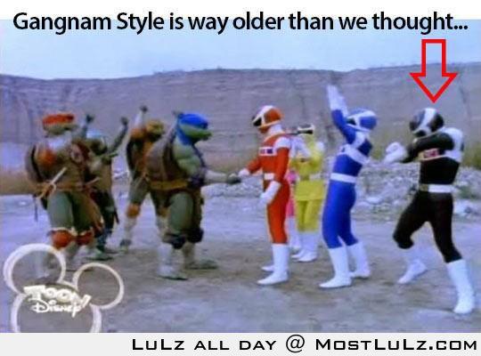 Gangnam Style Old School
