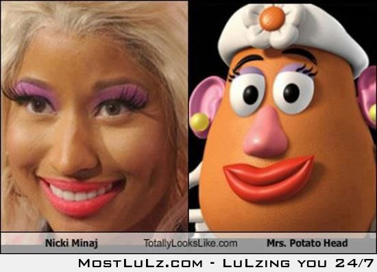 Nicki Minaj vs Mrs. Potato