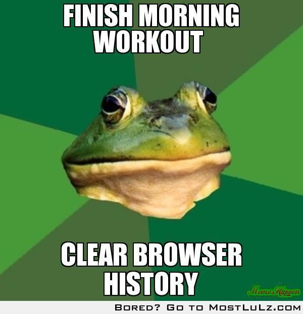 Finish Morning Workout