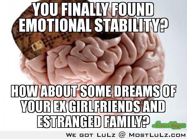 Found Emotional Stability?