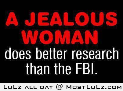 A Jealous Woman