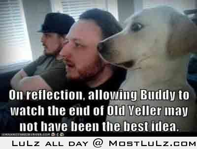 Old Yeller - A Ruff Ending