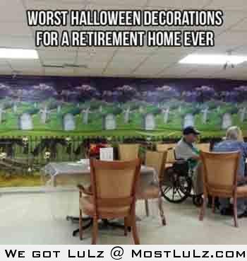 Retirement Home Halloween
